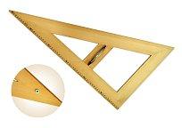 Trojúhelník dřevěný 30* s magnetem