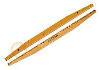 Pravítko dřevěné 100 cm s magnetem