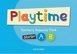 Playtime Starter, A and B Teacher's Resource Pack