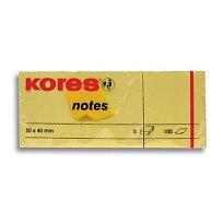Blok lepící Kores 40x50 / 3 ks