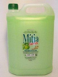 Mitia family Jablko 5L - tekuté mýdlo