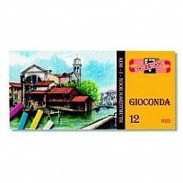 Křída Gioconda 12 barev