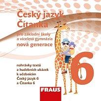 Český jazyk/Čítanka 6 pro ZŠ a VG /nová generace/ CD /1ks/