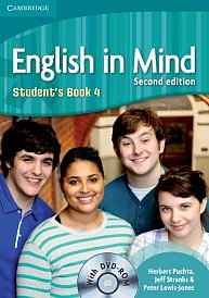 Student´s Book with DVD-ROM English in Mind 2nd Edition Level 4
