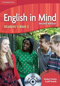 Student´s Book with DVD-ROM English in Mind 2nd Edition Level 1