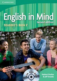 Student´s Book with DVD-ROM English in Mind 2nd Edition Level 2