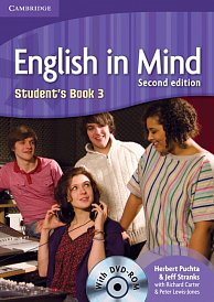 Student´s Book with DVD-ROM English in Mind 2nd Edition Level 3
