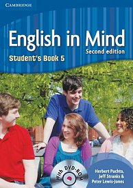 Student´s Book with DVD-ROM English in Mind 2nd Edition Level 5