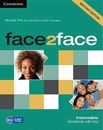 Workbook with Key Face2Face 2nd Edition Intermediate