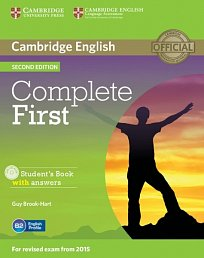 Student´s Book with Answers with CD ROM Complete First 2nd Edition