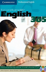 Personal Study book with Audio CD English365 3