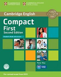 Student's Book with Answers with CD-ROM Compact First Second Edition