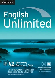 Coursebook with e-Portfolio and Online Workbook English Unlimited Elementary