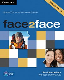 Workbook without Key Face2Face 2nd Edition Pre-Intermediate