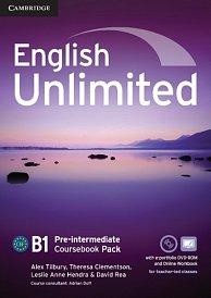 Coursebook with e-Portfolio and Online Workbook English Unlimited Pre-Intermediate