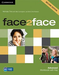 Workbook with Key Face2Face 2nd Edition Advanced