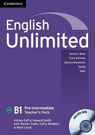 Teacher´s Pack (TB + DVD-ROM) English Unlimited Pre-Intermediate