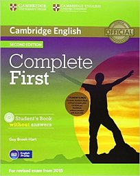 Student´s Pack (SB and WB without Answers with CD) Complete First 2nd Edition