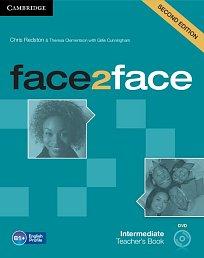 Teacher's Book with DVD Face2Face 2nd Edition Intermediate