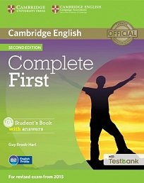 Student's Book with Answers with CD with Testbank Complete First 2nd Edition