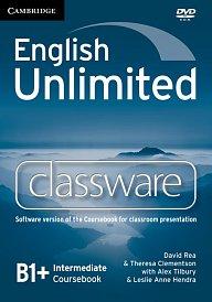 Classware DVD-ROM English Unlimited Intermediate