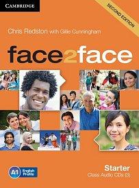 Class Audio CDs (3) Face2Face 2nd Edition Starter