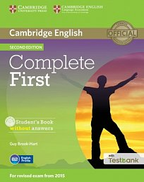 Student's Book without Answers with CD with Testbank Complete First 2nd Edition
