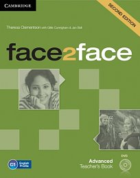 Teacher's Book with DVD Face2Face 2nd Edition Advanced