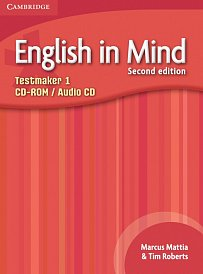 Testmaker CD-ROM and Audio CD English in Mind 2nd Edition Level 1