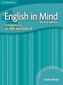 Testmaker CD-ROM and Audio CD English in Mind 2nd Edition Level 4