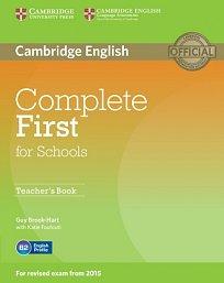 Teachers´ Book Complete First