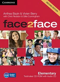 Testmaker CD-ROM and Audio CD Face2Face 2nd Edition Elementary