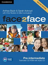 Testmaker CD-ROM and Audio CD Face2Face 2nd Edition Pre-Intermediate