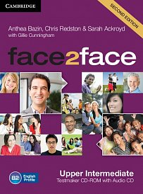Testmaker CD-ROM and Audio CD Face2Face 2nd Edition Upper-Intermediate