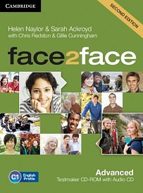 Testmaker CD-ROM and Audio CD Face2Face 2nd Edition Advanced