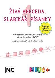 MIUč+ Živá abeceda, Slabikář, Písanky (sada) Píšeme tiskacím písmem - žákovská licence na 1 rok