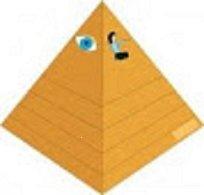 Až na vrchol pyramidy? Z předškoláka školákem (stavebnice)