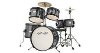 Dětská bicí souprava Stagg TIM JR 5/16 BK