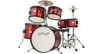 Dětská bicí souprava Stagg TIM JR 5/16 RD