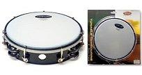 Dvouřadá  laditelná tamburína Stagg TAB 208P/BK