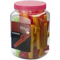 Barevné kazoo Stagg kazzo 30 (30 ks)
