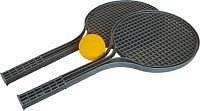 Soft tenis set 2+1 černý