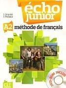Écho Junior A2 Livre de l'éleve + DVD-ROM