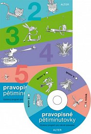 CD Pravopisné pětiminutovky 5 - jednouživatelská verze