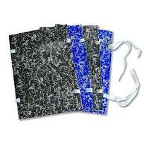 Desky spisové A4 mráček s tkanicí modré