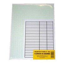 Papír mm A3 20ks + lenoch