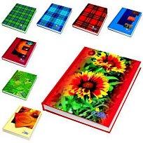 Kniha záznamní 66105 A6 šitá čtvereček