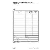 Paragon daňový doklad obyčejný ET010