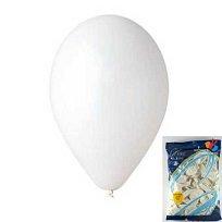Balónek nafukovací kul.bílý/100ks