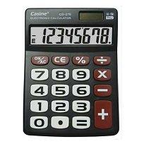 Kalkulačka CASINE CD-276 stolní 8 míst ČERNÁ
